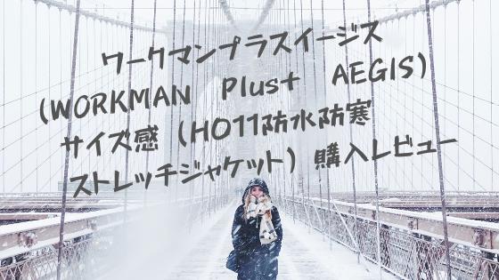 ワークマンプラスイージス(WORKMAN Plus+ AEGIS) サイズ感(H011防水防寒杢ストレッチジャケット)